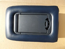 1995-1998 GMC Yukon Chevy Tahoe Z71 Truck blue leather 60/40 seat console lid