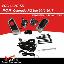 Spot Driving Fog Lights Fog Lamps Kit For Holden Colorado 2012 to 2016 RG Front