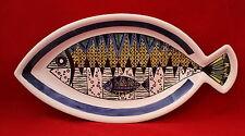 Mid Century Modern Jie Gantofta Fish Platter Sweden Pottery Anita Nylund Design