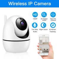 Wifi AI Human Tracking Security Camera 1080P Auto Tracking for Pet Baby Monitor