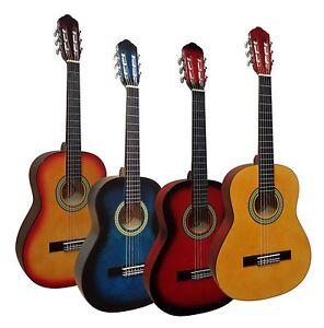 1/2 Kindergitarre, Konzert, Klassik, Jugend, Gitarre ^^^ VERSCHIEDENE FARBEN ^^^