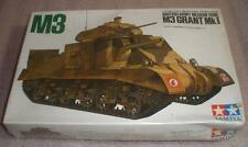 M3 Grant MkI British Army Medium Tank model kit Tamiya Factory sealed