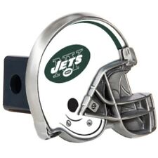 New York Jets Metal Helmet Trailer Hitch Cover
