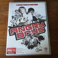 Angry Boys DVD R4 Like New! FREE POST