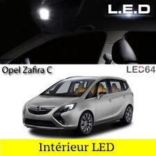 Kit ampoules à LED pour l'éclairage intérieur habitacle blanc Opel Zafira C