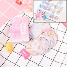 45x Scrapbooking Stickers Creative Petal Label Sticky Paper Diary Gift Studentse