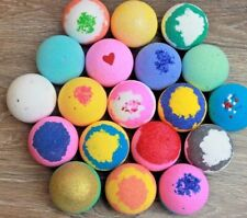 10 Bath Bombs Assorted Gift Set Mixed Colors Fast Ship Hand Made Organic Usa