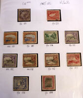 LOT OF 12 OLD CYPRUS STAMPS, KGV SG123-139, MINT & USED, PART SET