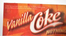 Coca-Cola Vanilla Coke USA Wackelbild Linsenrasterbild Wechselbild Kippbild