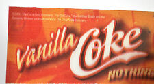 Coca-Cola Vanille COKE USA IMAGE stable IMAGE LENTICULAIRE photo changeante