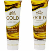 2x Tubes Wet Stuff GOLD Sex lube Lubricant & Massage Toys Safe