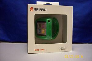 Griffin Slap Flexible wristband Bracelet Case for iPod Nano 6th Generation Green