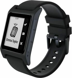 Pebble 2 SE Fitness Tracker Smartwatch for Android or iOS (Black) Bluetooth