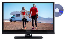 Telefunken XF22A101VD LED Fernseher 22 Zoll Full HD TV DVB-C/-T2/-S2 CI+ 12 Volt