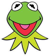 "Kermit The Frog sticker decal 4"" x 5"""