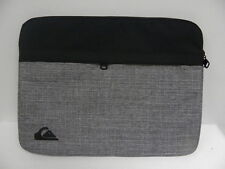 "Quiksilver Gray & Black 15"" Laptop Sleeve Pouch Case Accessories"
