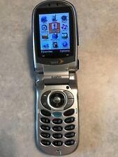 Sanyo SCP-8400 Flip-phone Cell Phone Sprint ~ For CDMA on Sprint Network