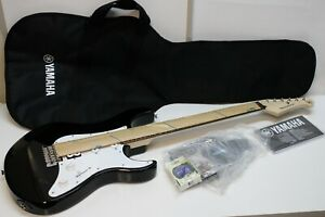 Yamaha Pacifica PAC012 Electric Guitar Black w/ Gig Bag, Strap & Tuner