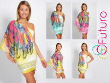 Summer/Beach Party Dresses for Women with Batwing Sleeve