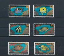LN31534 Wallis et Futuna fish shell coral sealife fine lot MNH