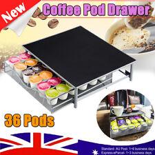 36 Dolce Gusto Coffee Pod Capsule Stand Holder Steel Drawer Rack Organiser Home