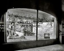 1921 WOODWARD & LOTHROP DEPARTMENT STORE WINDOW DISPLAY PHOTO CAMPING AUTO THEME