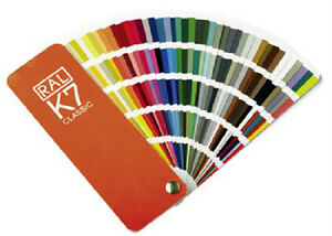 RAL K7 Classic colour guide - Brand New Unused - Shows all the Classic colours