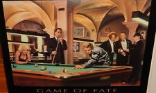"""CHRIS CONSANI """"GAME OF FATE"""" LARGE COLOR POSTER"""