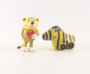 Tigerentenclub === 2 x Janosch Tigerente Figur