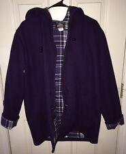 Johnson Woolen Mills Purple Wool Coat Size XS