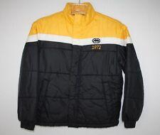 Ecko Unlimited Boys Youth Yellow Black White Winter Coat Jacket Sz Small