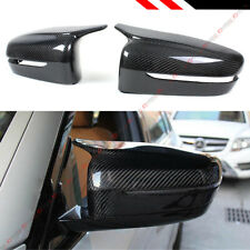 FOR 17-2020 BMW G30 G20 M STYLE HORN CARBON FIBER REPLACEMENT SIDE MIRROR COVERS