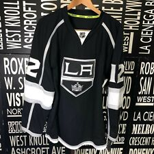 Reebok Los Angeles Kings Simon Gagne #12 Authentic Home Black Jersey   Size: 54