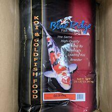 Blue Ridge Color Enhancer Koi & Goldfish Pond Fish Food 25 lb.