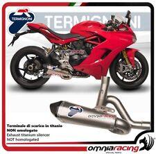 Termignoni SCREAM terminale scarico titanio racing Ducati SuperSport 939 2017>