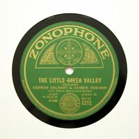 "VERNON DALHART & CARSON ROBISON ""Little Green Valley"" (E+) ZONOPHONE 5212 [78]"