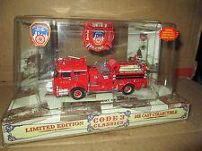 CODE 3 1/64 city new york  pumper  Fire Dept 71  no 12350 MACK  truck