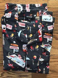 Joe Boxer Men/'s 2-Pc Long Sleeve Graphic Tee /& Pant Pajama Set Skull Santa