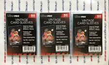 3-Pack of 50 (150 Total) Ultra Pro Vintage Penny/Soft Card Sleeves Ultra Clear