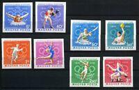 Ungarn MiNr. 2616-23 B postfrisch MNH Olympiade 1972 (Oly515