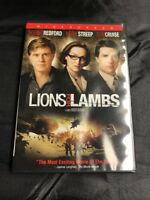 Lions for Lambs (DVD, 2008, Widescreen)