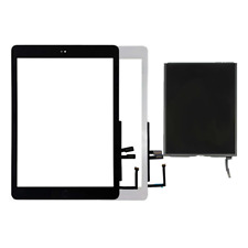iPad 6 2018 A1954 A1893 LCD Display Touch Screen Glass Digitizer Home Button Lot