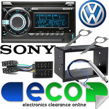 Vw Transporter T5 2003-06 Sony Auto Stereo Cd Mp3 Usb Bluetooth Aux Reproductor