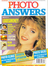 Photo Answers magazine with  Contax RTS 111 on   test   March   1991
