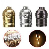 US Edison Vintage Lamp Light Base socket Holder adapter E27 Bulbs