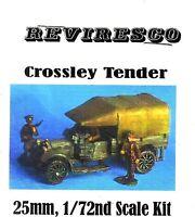 Crossley Tender - Englischer LKW 1. Weltkrieg Zinnbausatz mit Figuren - 1:72