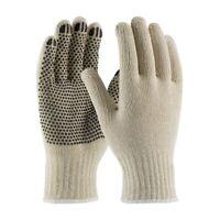 Cotton/Polyester PVC Dotted Work Gloves- LARGE (20 dozen pair) FULL CASE