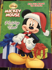 New listing Disney Mickey Mouse Holiday Treat Big Fun Book To Color (New) 2014