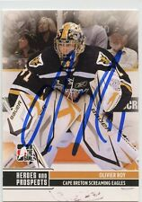 OLIVIER ROY EAGLES AUTOGRAPH AUTO 09/10 HEROES & PROSPECTS #112 *33686