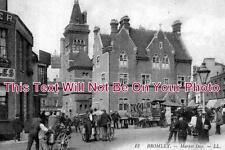 KE 27 - Bromley Market Day, Kent c1908 - 6x4 Photo